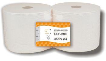 bobina industrial gofrada reciclada