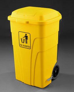 Contenedor-120L-con-pedal-amarillo