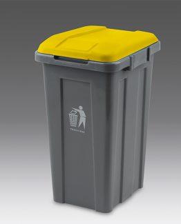 papelera-50-litros-tapa-amarilla